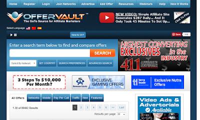 offer vault - الربح من الانترنت - كيف تربح من الانترنت