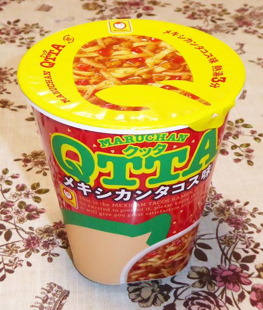 【マルちゃん(東洋水産)】QTTA〔クッタ〕メキシカンタコス味