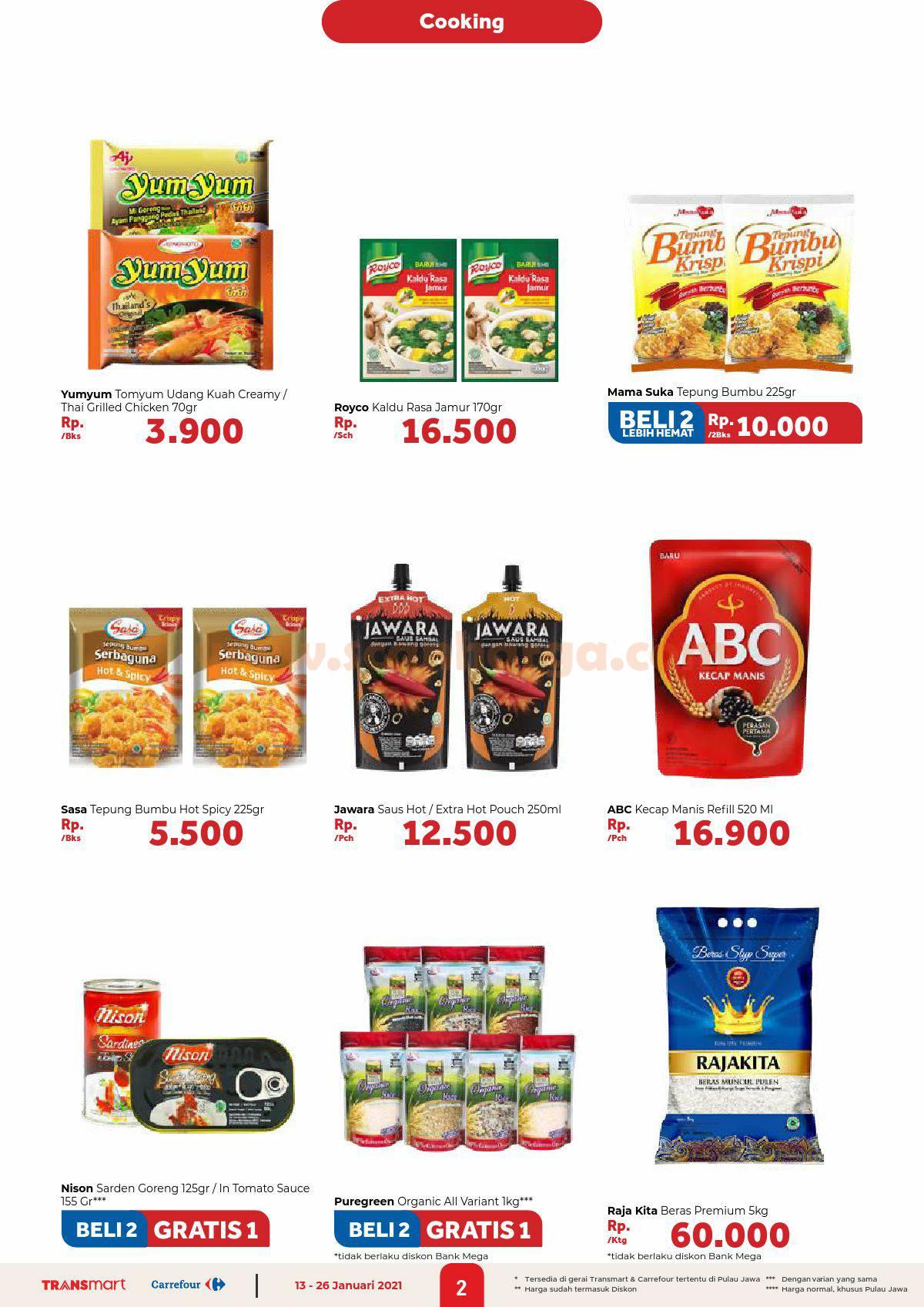 Katalog Promo Carrefour Transmart 13 - 26 Januari 2021 2