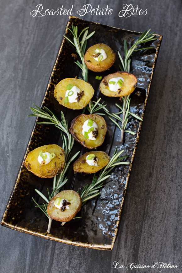 roasted potato bites