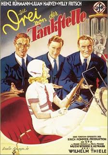 German 1930 Film Die 3 von der Tankstelle
