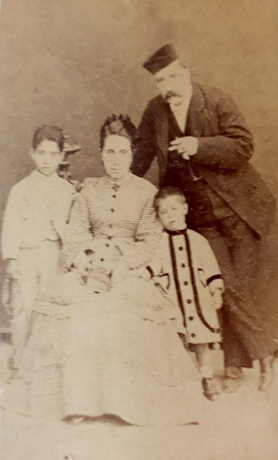 Familia Capó-Gonzáles en 1872