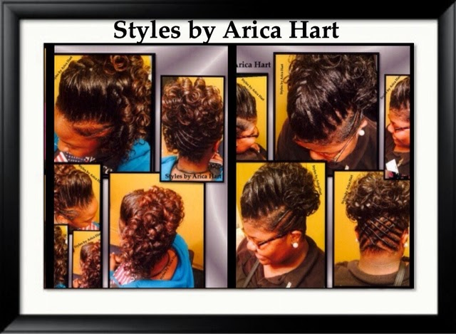 Updo hair styles, lifted braid hair styles by Arica Hart | an Aiken, SC hair stylist in a Hair salon