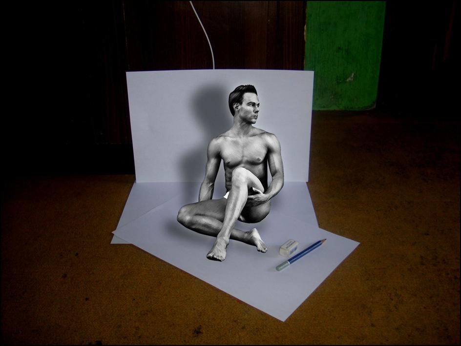 Cara Membuat Efek 3d  14  Cara Membuat Efek 3D Di Photoshop