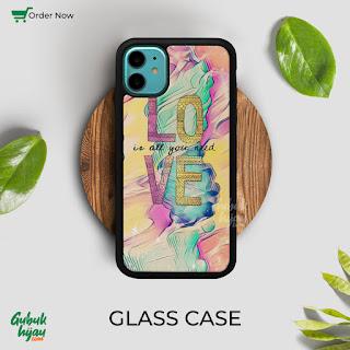 Mockup Glass Case iPhone 11 gubukhijau
