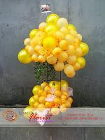 balon ucapan selamat, rangkaian balon ulang tahun, baby born gift, toko bunga di jakarta, balon ucapan selamat dan sukses, bunga ulang tahun ibu