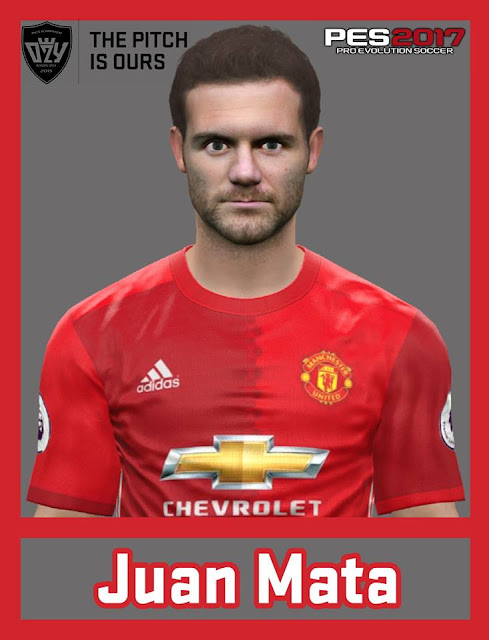 [PES17/16] Juan Mata | Manchester United F.C