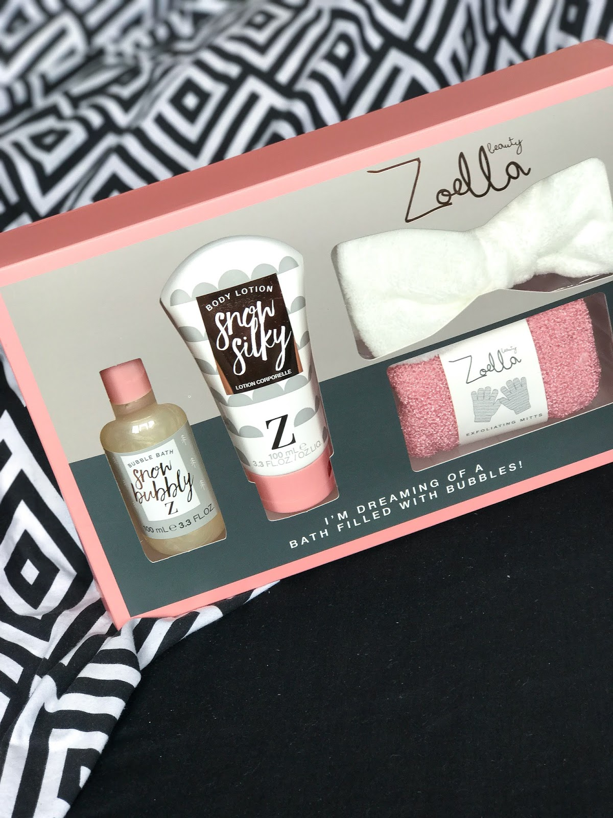 zoella snow silky body lotion snow bubbly bubble bath 2017 zoella beauty