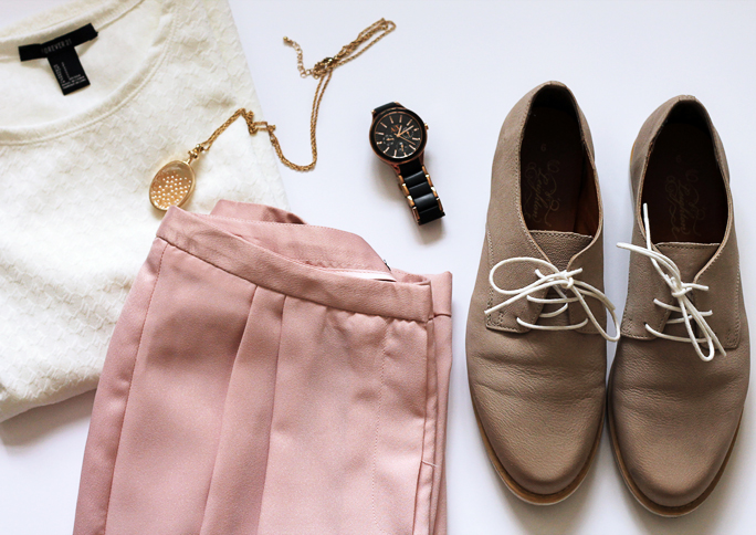 Outfit Snippets | Primark Pink Trousers