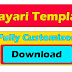 Shayari Template Fully Customized Free Download