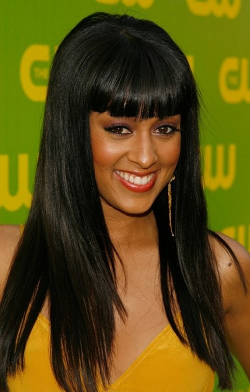 African American Hairstyles Trends and Ideas : Hairstyles for Black Women with Long Straight Hair
