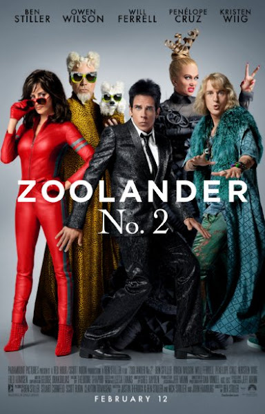 Poster of Zoolander 2 (2016) 720p BRRip Full Movie Download
