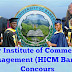 Competitive entrance examination into year one of the Higher Institute of Commerce and Management (HICM)