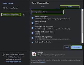 Cara Mengatasi Aw Snap Pada Google Chrome