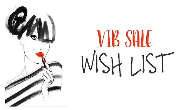 VIB Sale Wish List