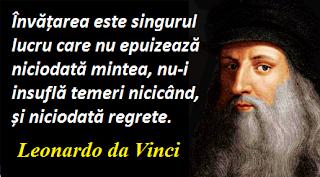 Citatul zilei: 15 aprilie - Leonardo da Vinci