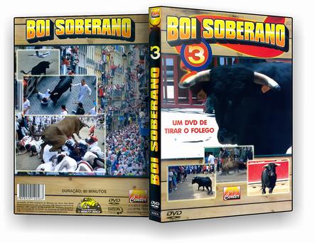 CAPA DVD – Boi Soberano 3 – DVD-R