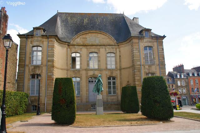 Edifici del centro di Fougeres