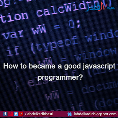 How to became a good javascript programmer