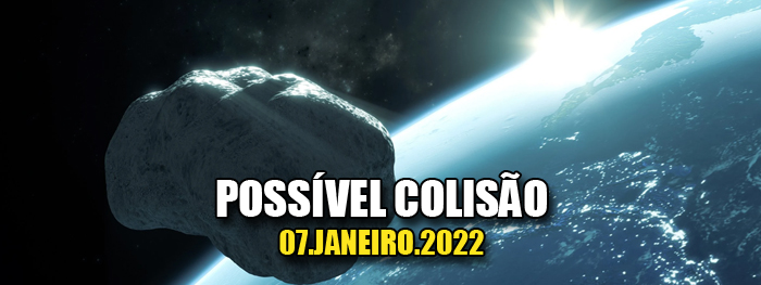 asteroide 2020 AP1 pode colidir com a Terra em janeiro de 2022