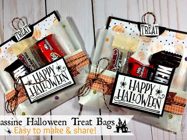 Glassine Halloween Treat Bags!