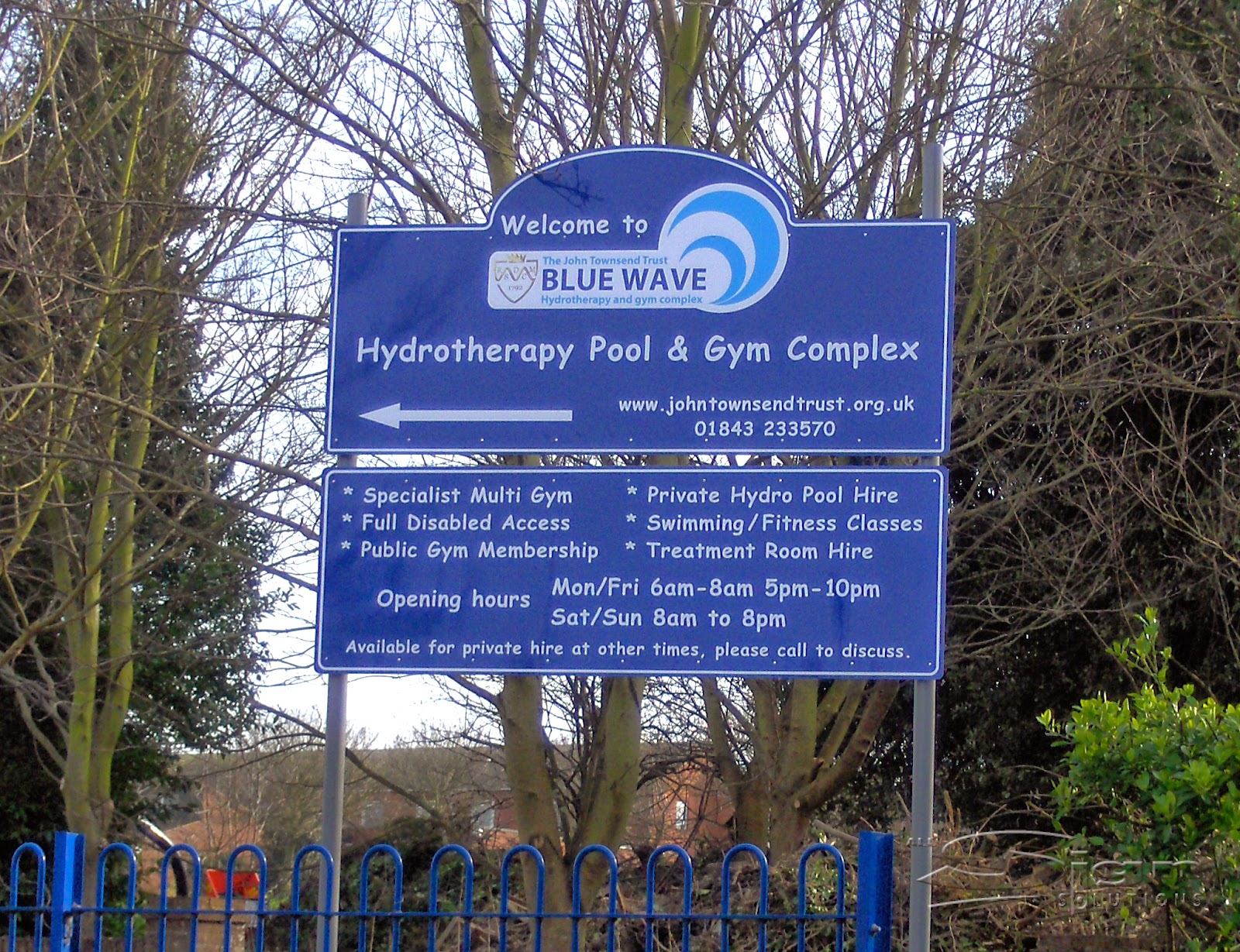 John Townsend Trust Blue Wave Hydrotherapy Pool And Gym
