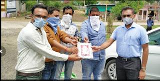 नवागत पुलिस अधीक्षक श्री गुप्ता ने किया झकनावदा चौकी का ओचक निरीक्षण