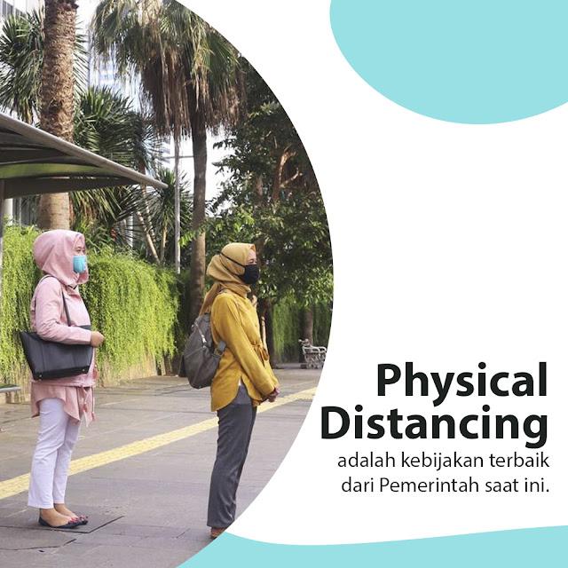 Physical Distancing Lebih Efektif Daripada Sosial Distancing