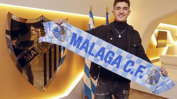 Oficial: El Málaga renueva hasta 2022 a Julio Martínez