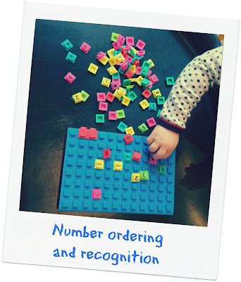 Number ordering and recognition Waff notebook journal