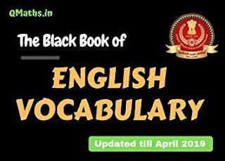 The Black Book of English Vocabulary by Qmaths