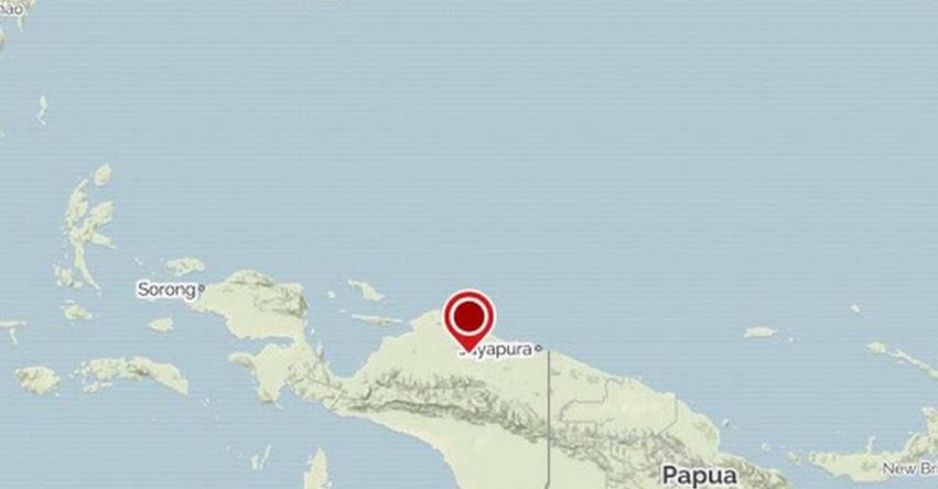 Terremoto en Indonesia de Magnitud 5.9 - Alerta de Tsunami (Hoy Viernes 14 Septiembre 2018) Sismo Temblor EPICENTRO - Abepura - USGS