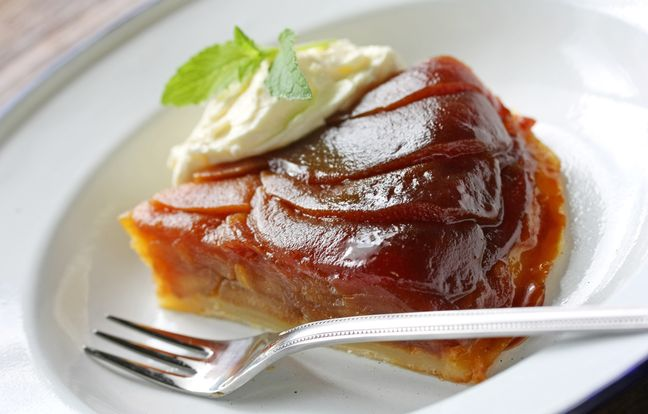 Shortbread Tatin Pie