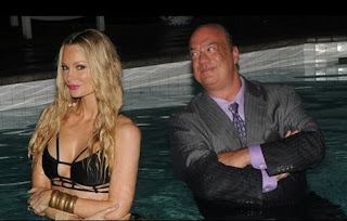 Marla Heyman's ex-husband Paul Heyman with his co-actor