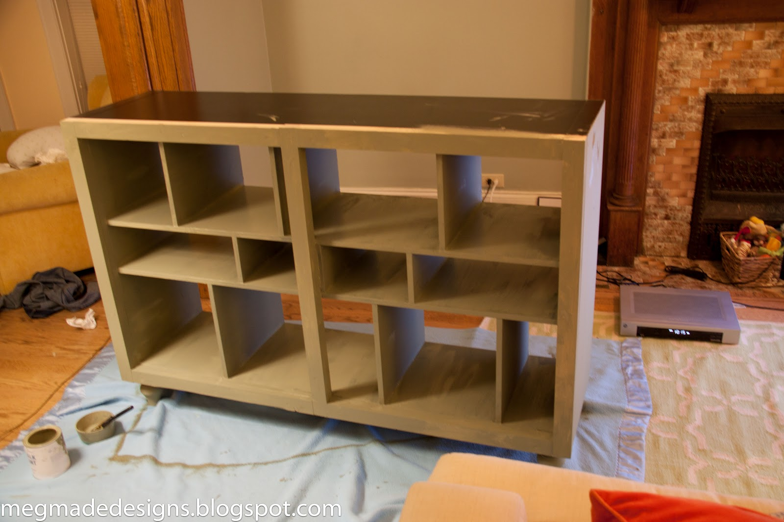 Popular Ikea meets Vintage Printer's Cabinetwhat what! - **MegMade** VO83