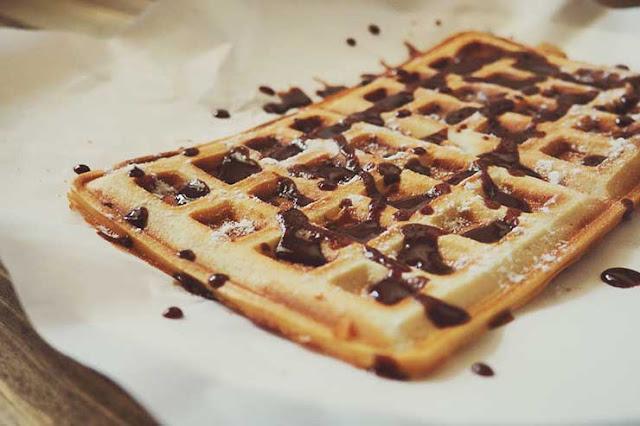 proteinli waffle tarifi
