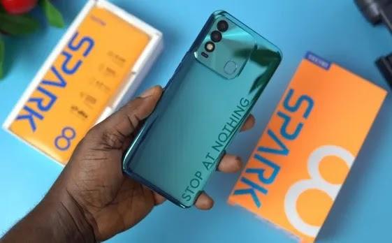 Tecno Quietly Launches Spark 8 in Nigeria