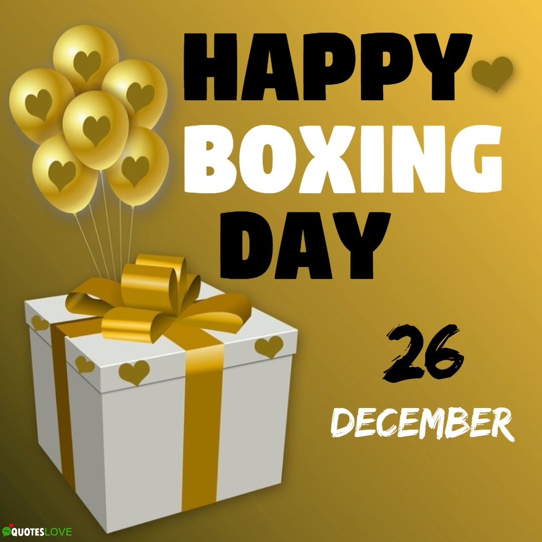 (Latest) Boxing Day 2019 Images, Poster