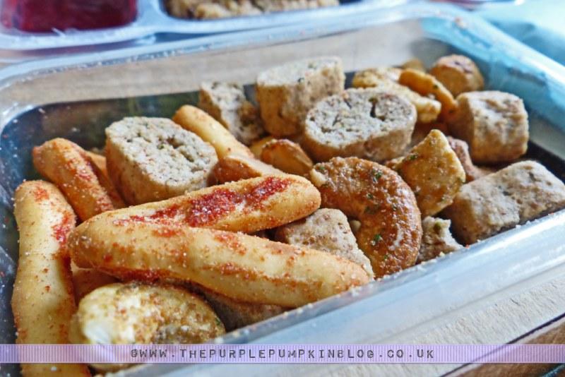 graze box review - olive and rosemary bruschetta