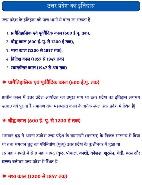 उत्तर प्रदेश का इतिहास पीडीएफ पुस्तक  | Uttar Pradesh Ka Itihas in Hindi PDF Book Free Download
