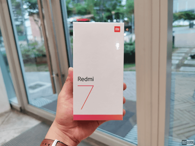 Raffle: Redmi 7 brand new smartphone!