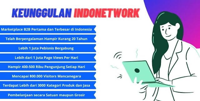 Keunggulan Indonetwork