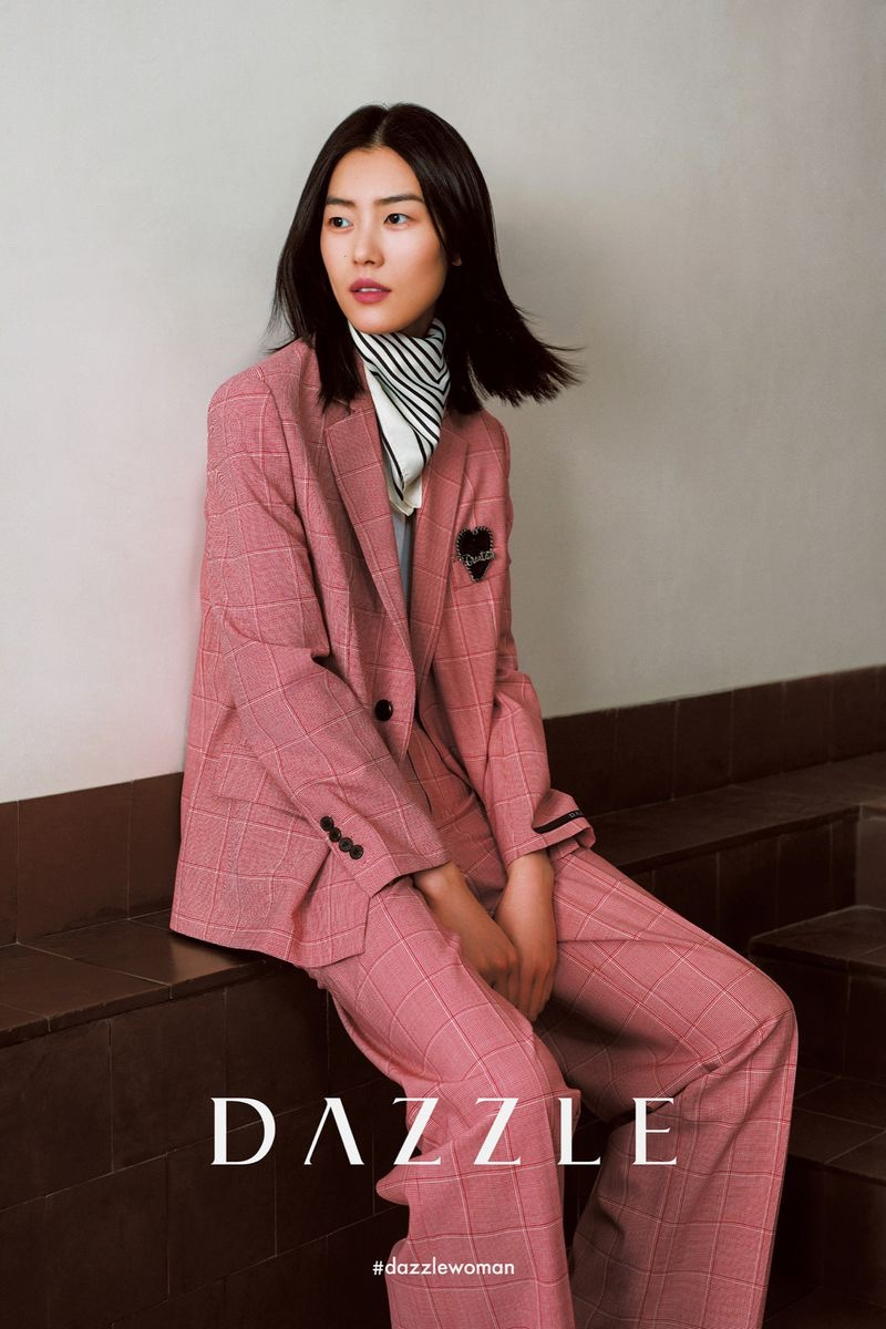 Liu Wen Exudes Cool in Dazzle Fall 2020 Campaign