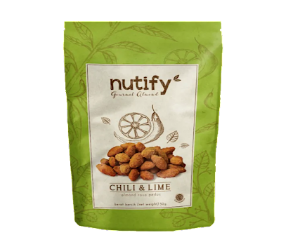 Nutify Almond Gourmet Chilli & Lime