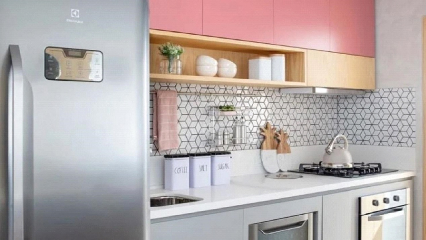 Cozinha colorida - Nainá Julio