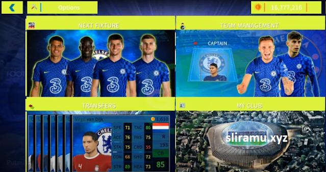 DLS 22 Mod Chelsea FC New Update Transfer & Jersey 21\22