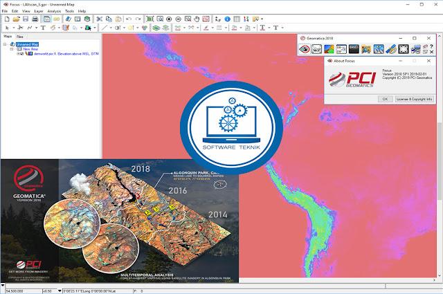 PCI Geomatica 2018 SP1 x64