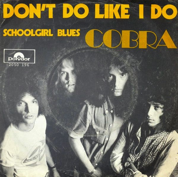 Cobra - Don't Do Like I Do / Schoolgirl Blues