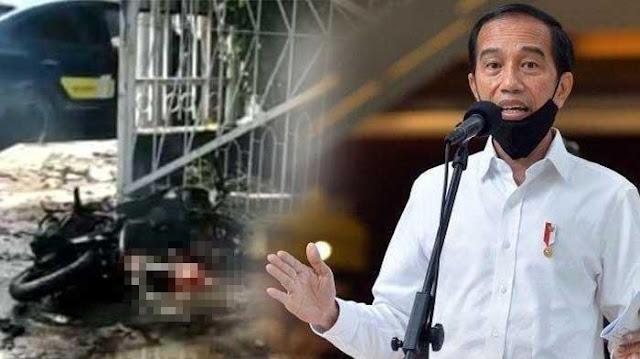 Jokowi: Teror*sme Kejahatan Kemanusiaan, Tak Ada Kaitan dengan Agama Apa Pun