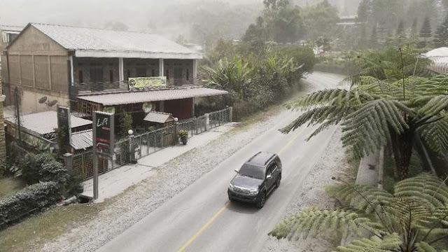 Kabupaten Karo Sumatera Utara Mencatat Tak Ada Pengungsi Akibat Erupsi Gunung Sinabung
